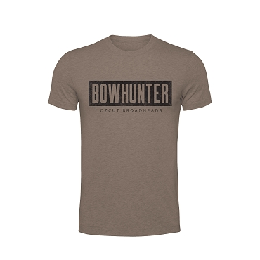 Bowhunter Tee - Coyote Brown